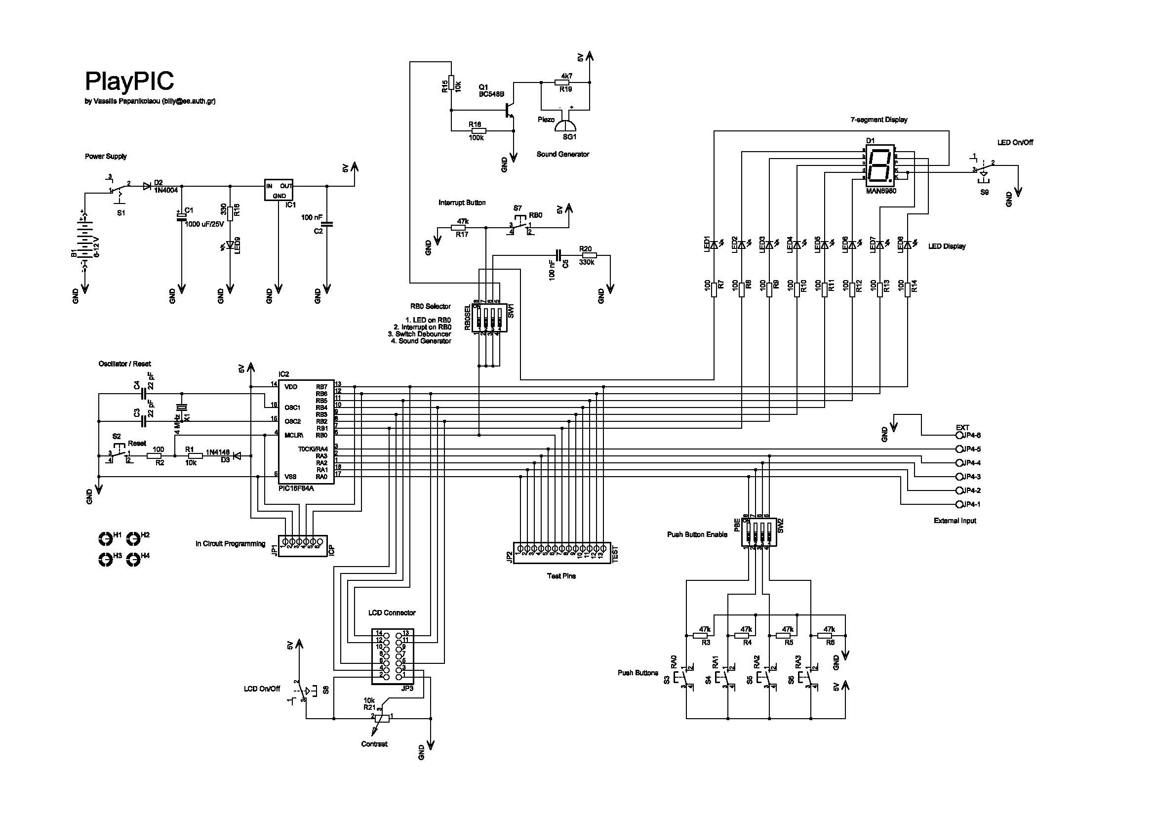 Playpic Circuit