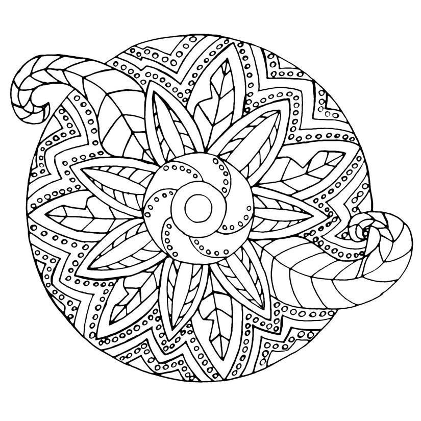 vegetal / metal - easy mandalas for kids - 100% mandalas zen