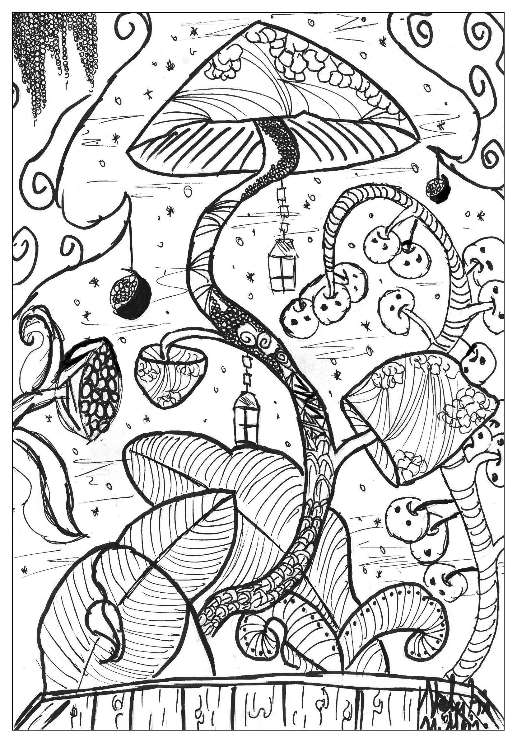 Flowers And Vegetation Mushroom