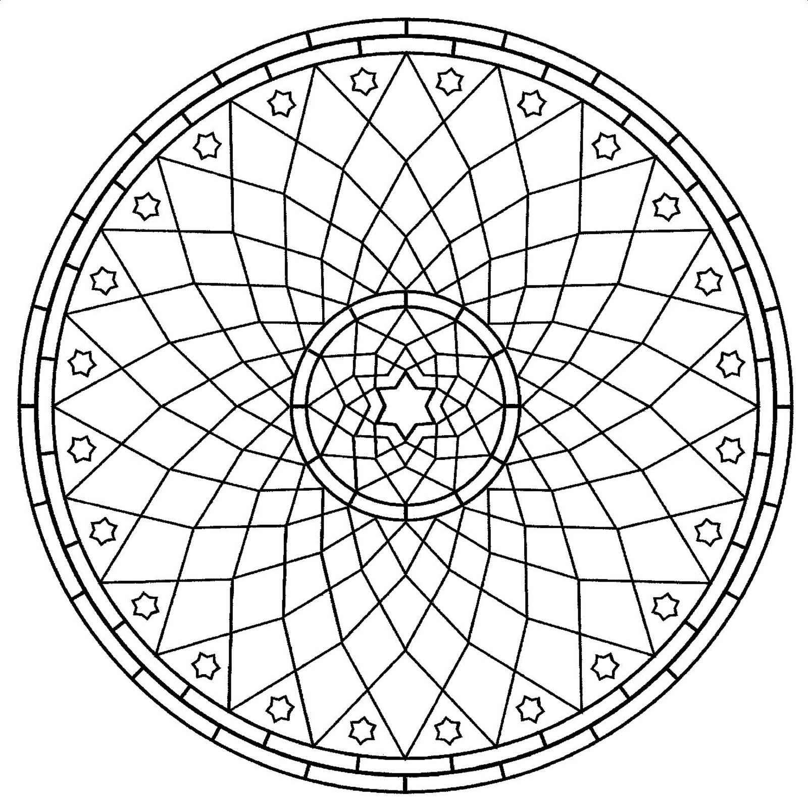 Incredible Anti Stress Mandala