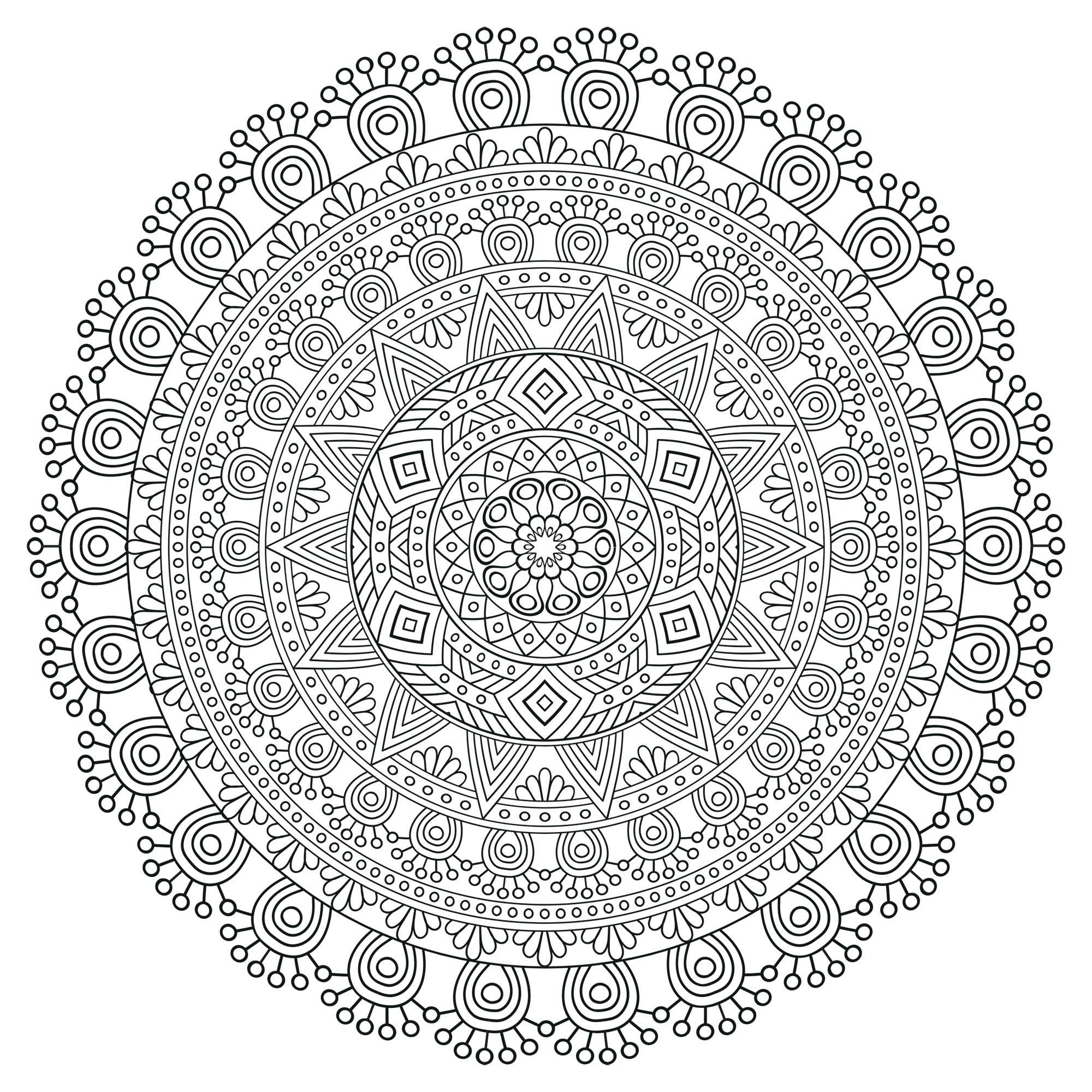 Mandala With Multiple Levels