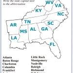4th Grade Social Studies Southeast Region States