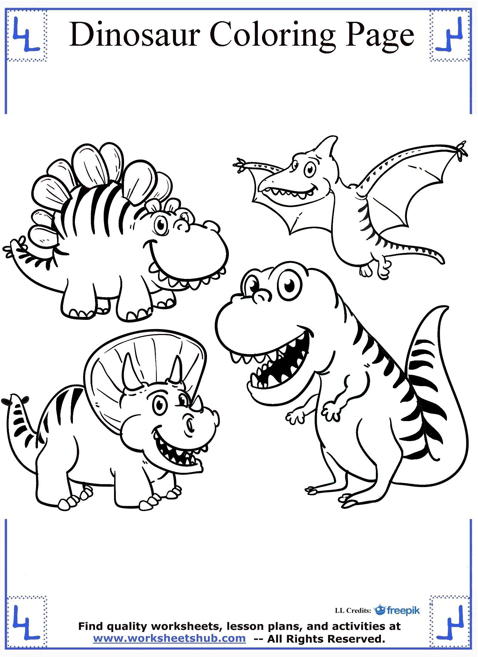 Dinosaur Train Worksheet