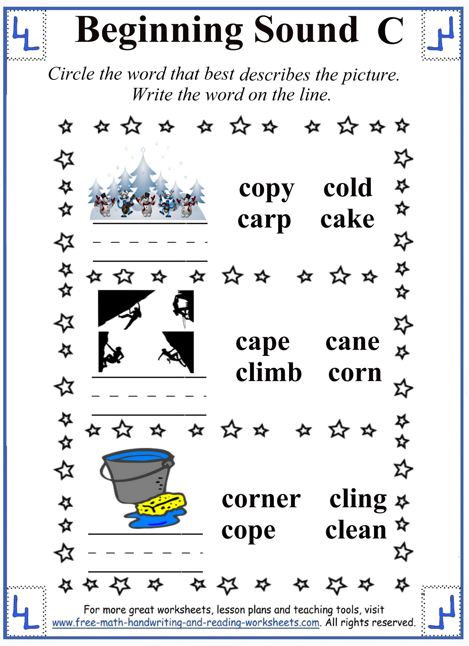 Spelling Worksheets K5 Learning