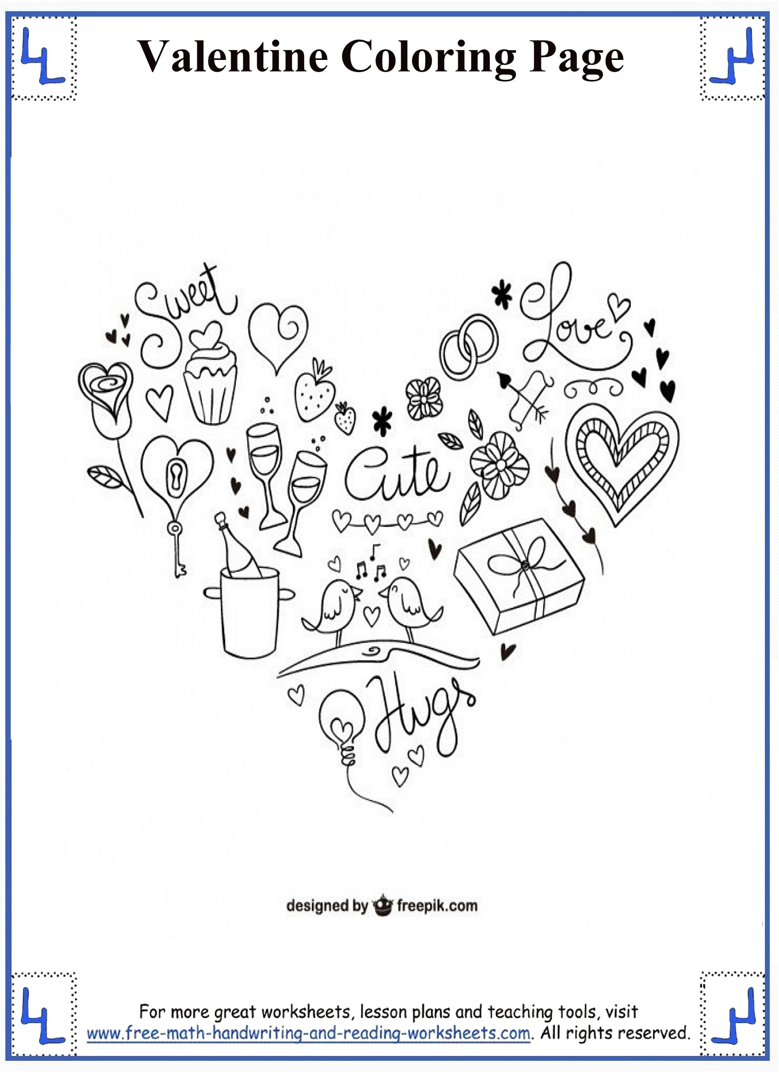 Connect The Dots Worksheets For Preschool Valentine S