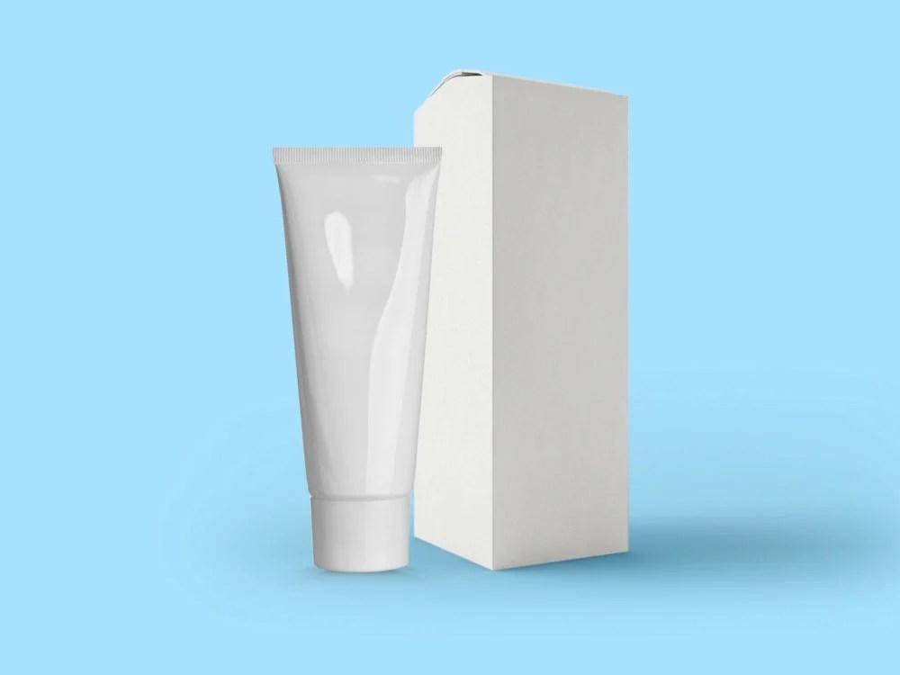 Download Cosmetic Box Mockup - Free Download Mockup