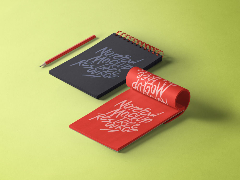 Spread the word and earn! Notepad Mockup Free Psd Free Mockup