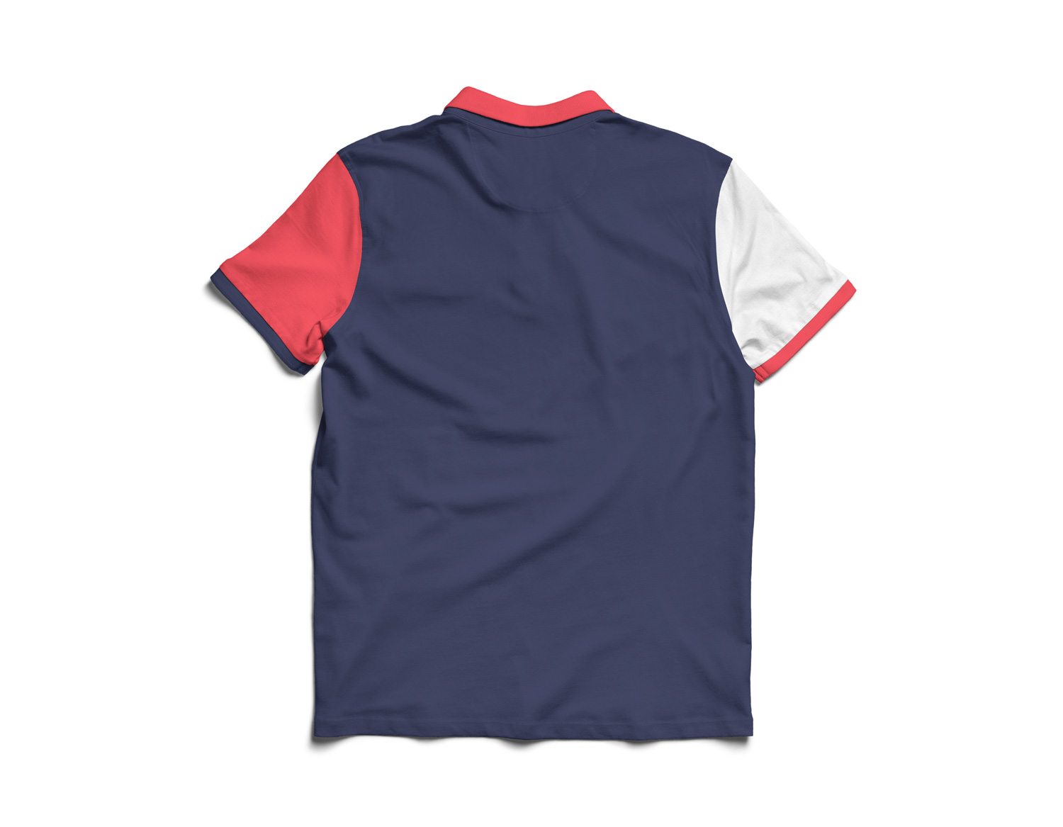 It is easy to edit these templates by using a smart object feature. Polo Shirt Mockup Free Mockup