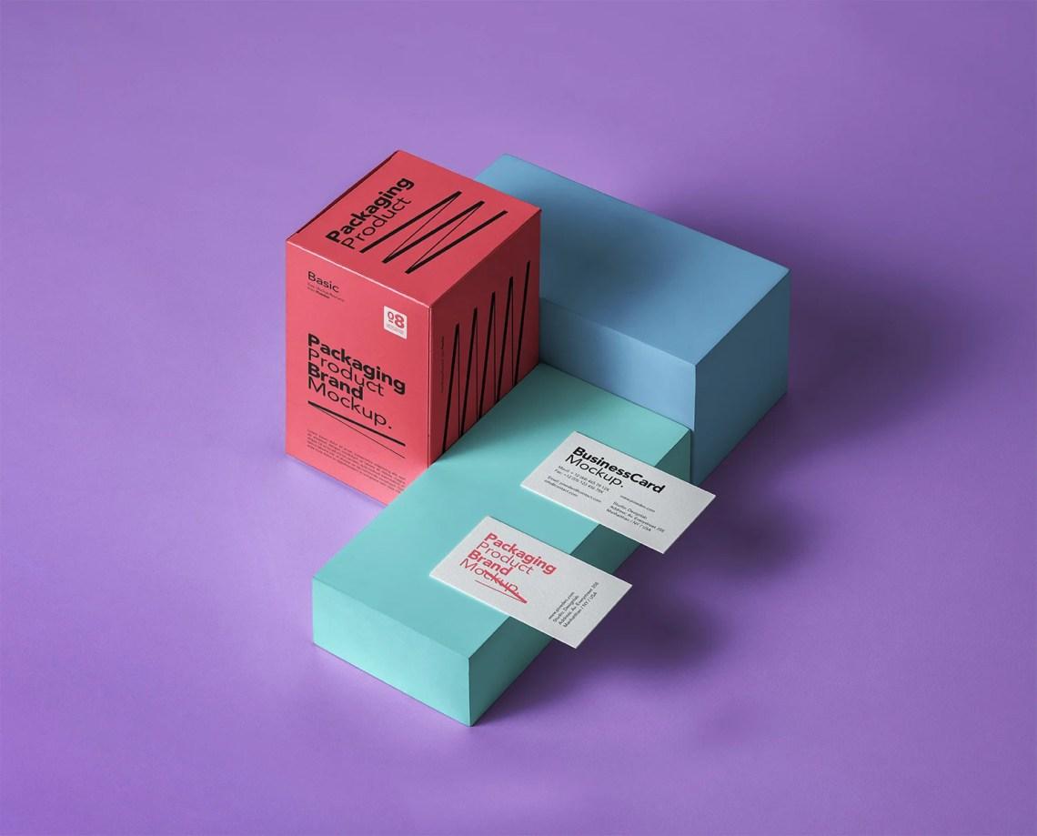 Download Free Basic Product Packaging Mockup | Free Mockup
