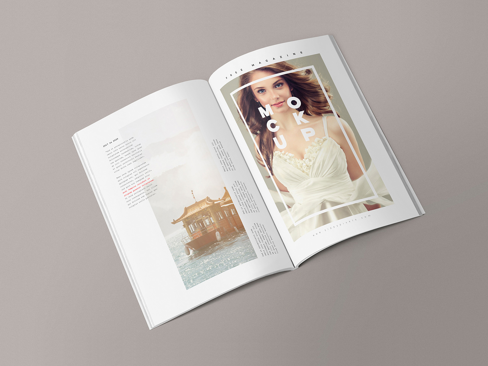 Dunnnk is a free mockup builder that contains over 55 unique items. Free Magazine Mockup Templates Free Mockup