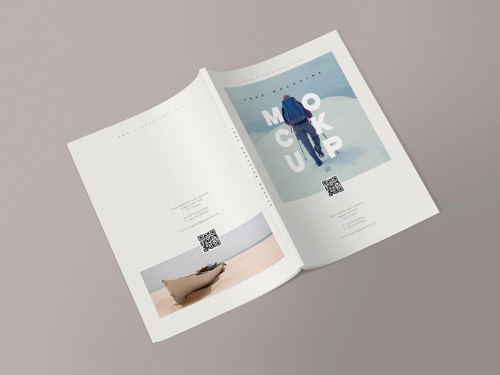 magazine front cover free mockup. Free Magazine Mockup Templates Free Mockup