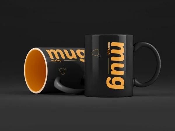 Confira uma coleção de mockup caneca para exibição de seus projetos de design: Cup Mockups Free Mockup