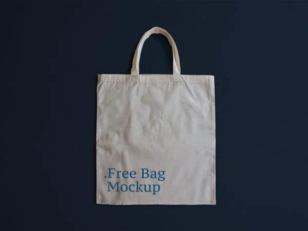 Bag tag balloon gift mockup. Bag Mockups Free Mockup