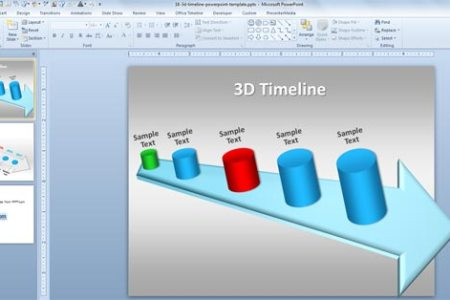 powerpoint 2010 timeline template   Gotta yotti co powerpoint 2010 timeline template