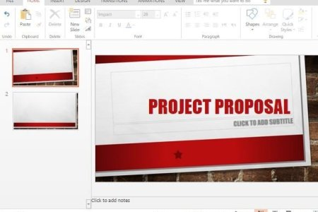 Main Event PowerPoint Template