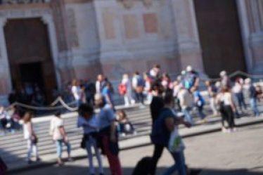 Turisti in Piazza Maggiore