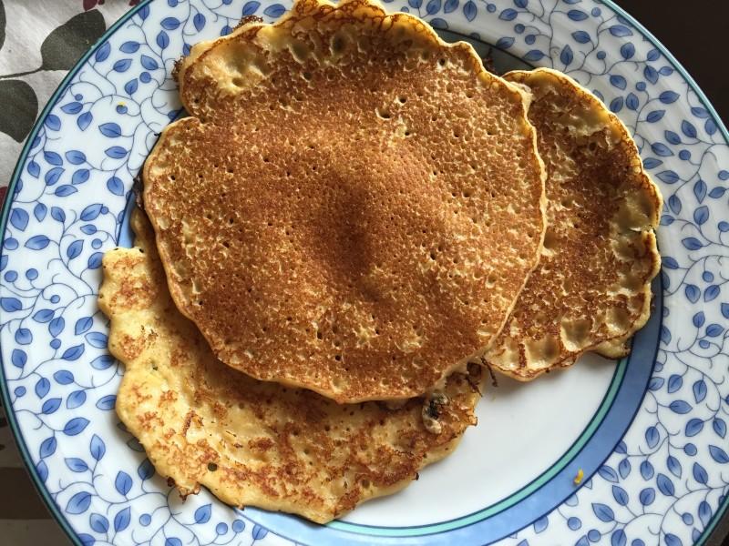 Swedish Pancakes Plate