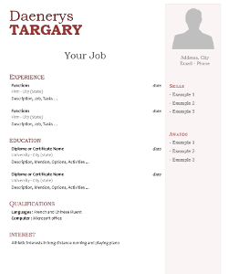 Back to post open office libreoffice resume. 20 Free Cv Templates And Tips For Resume Writing