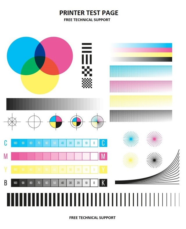 Print Test Page  15% Simple Online Tool To Check Printer Ink