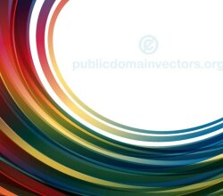 Vector Abstract Background Design with Red, Blue Curved Stripes