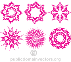 Vector Pink Design Elements Images