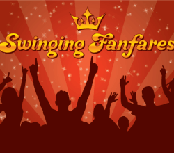 Swinging Funfares Wallpaper Design