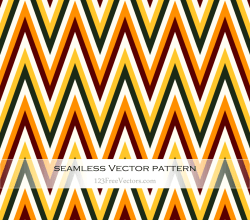 Zigzag Chevron Pattern Vector Art
