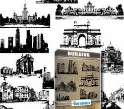 Buildings Free Vector Pack