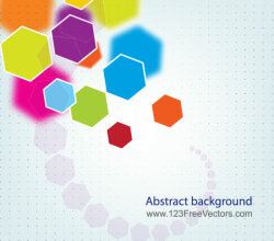 Abstract Polygon Background Vector