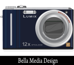 Lumix Camera Free Vector Image