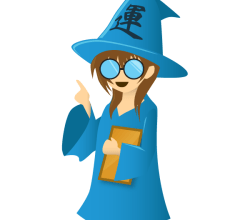 Free Wizard Cartoon Character Vector