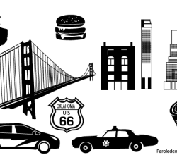 City Street Free Vector Art