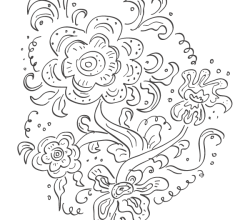 Vector Russian Floral Pattern
