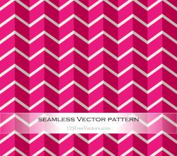 Pink Zig Zag Pattern Vector
