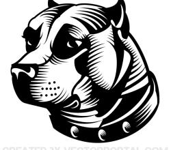 Vector Staffordshire Bull Terrier