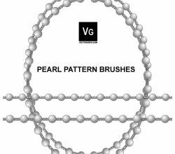 Pearl Pattern Illustrator Brushes