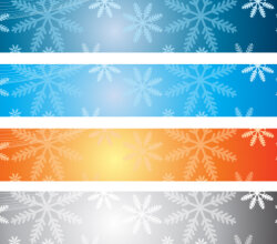 Christmas Banner Backgrounds Vector