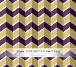 Retro Zigzag Pattern Wallpaper
