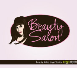 Beauty Salon Logo Vector Art