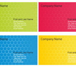 Business Card Design Templates Vector