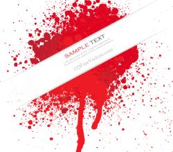 Blood Splatter Vector Free Download
