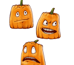 Halloween Pumpkins Graphics