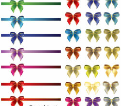 Ribbon Bow Vector Free