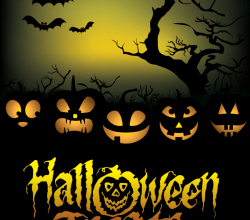 Halloween Treats Poster Vector Graphics Free Download