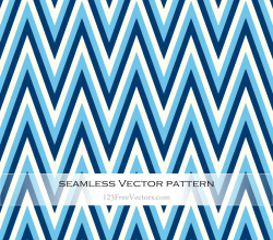Blue Chevron Background