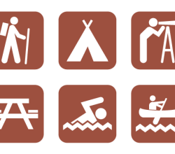 Free Camping Vector Icons