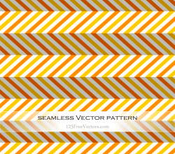 Orange and Yellow Zig Zag Abstract Pattern Background