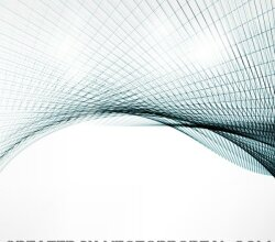 Abstract Curved Lines Background Pattern Graphics