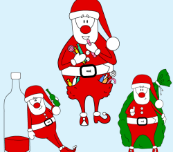 Santa Claus vector Graphics