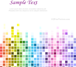 Rainbow Tile Background Designs
